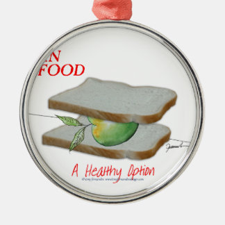 Tony Fernandes's Man Food - a healthy option Christmas Ornament