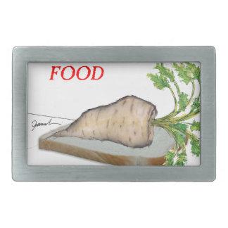 Tony Fernandes's Man Food - a picnic Rectangular Belt Buckles