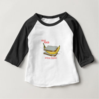 Tony Fernandes's Man Food - continental breakfast Baby T-Shirt