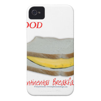 Tony Fernandes's Man Food - continental breakfast Case-Mate iPhone 4 Case