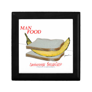 Tony Fernandes's Man Food - continental breakfast Gift Box