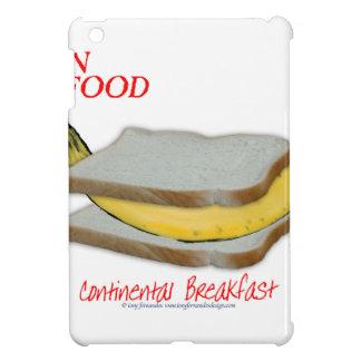 Tony Fernandes's Man Food - continental breakfast iPad Mini Cover