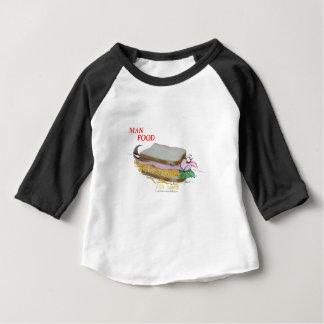Tony Fernandes's Man Food - fish supper Baby T-Shirt