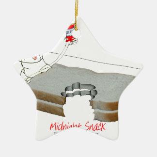 Tony Fernandes's Man Food - midnight snack Christmas Ornament