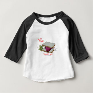 Tony Fernandes's Man Food - ploughmans lunch Baby T-Shirt