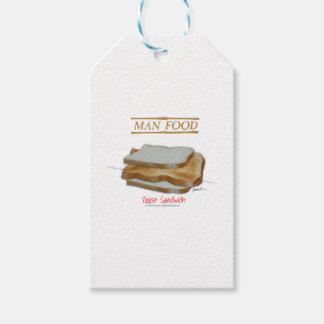 Tony Fernandes's Man Food - toast sandwich