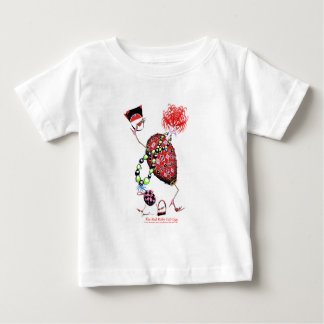 Tony Fernandes's Red Ruby Fab Egg Baby T-Shirt