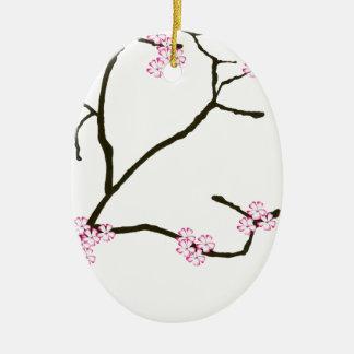 Tony Fernandes Sakura Blossom 1 Christmas Ornament