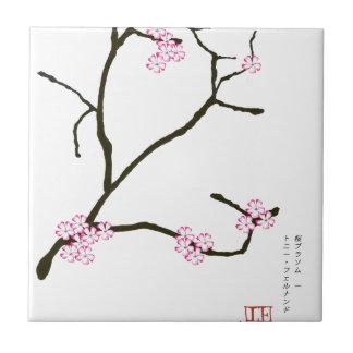 Tony Fernandes Sakura Blossom 1 Tile
