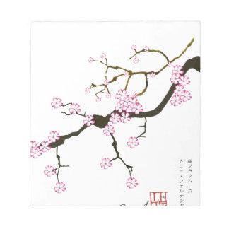 Tony Fernandes Sakura Blossom 6 Notepad