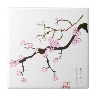 Tony Fernandes Sakura Blossom 6 Tile