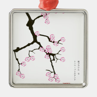 Tony Fernandes sakura lucky 7 Silver-Colored Square Decoration