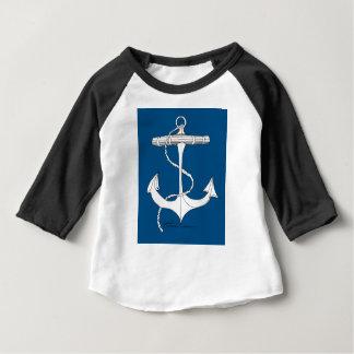 tony fernandes's anchor blue 1 baby T-Shirt