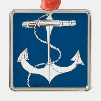 tony fernandes's anchor blue 1 christmas ornament