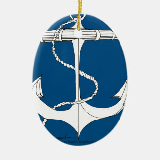 tony fernandes's anchor blue 1 christmas ornament