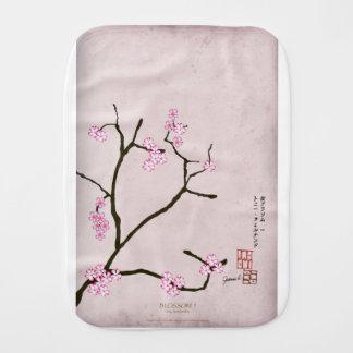 tony fernandes's antique blossom 1 burp cloth