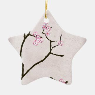 tony fernandes's antique blossom 1 ceramic star decoration