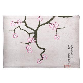 tony fernandes's antique blossom 2 placemat