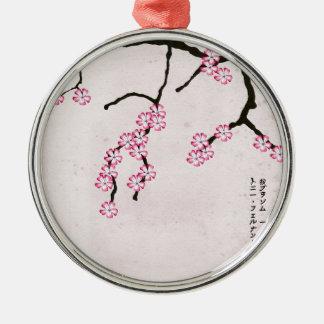 tony fernandes's antique blossom 3 christmas ornament
