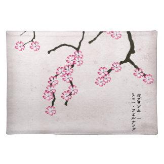 tony fernandes's antique blossom 3 placemat
