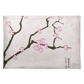 tony fernandes's antique blossom 4 placemat