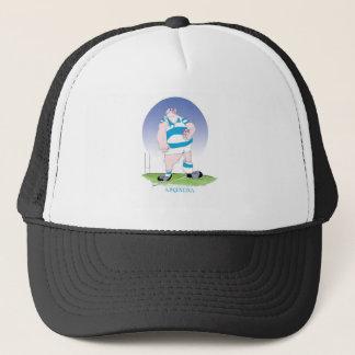 tony fernandes's argentina hero trucker hat