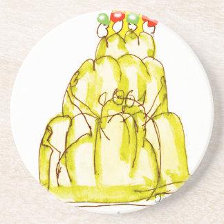 tony fernandes's banana jello cat coaster