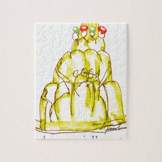tony fernandes's banana jello cat jigsaw puzzle