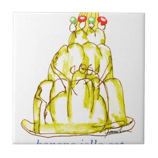 tony fernandes's banana jello cat tile