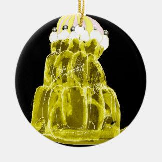 tony fernandes's banana jello rat christmas ornament