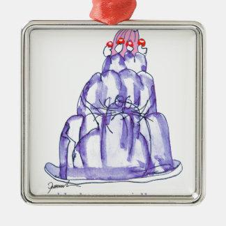 tony fernandes's blackcurrant jelly cat christmas ornament
