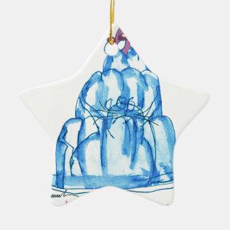 tony fernandes's blueberry jello cat ceramic star decoration