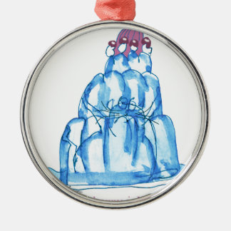 tony fernandes's blueberry jello cat christmas ornament