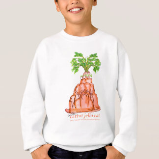 tony fernandes's carrot jello cat sweatshirt