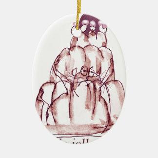 tony fernandes's cola jello cat christmas ornament