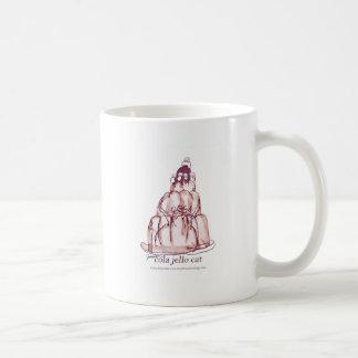 tony fernandes's cola jello cat coffee mug