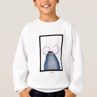 tony fernandes's cool hipster cat-snap sweatshirt