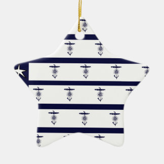 tony fernandes's flag anchor 2a ceramic star decoration