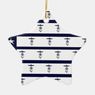 tony fernandes's flag anchor 2a christmas ornament