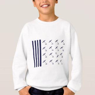 tony fernandes's flag anchor 2b sweatshirt