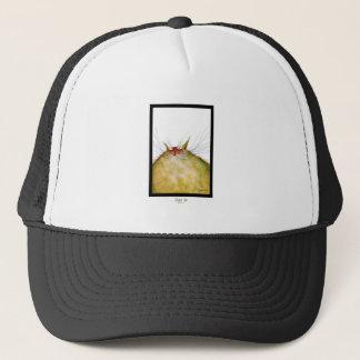 tony fernandes's ginger tom cat snap trucker hat