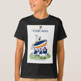 tony fernandes's Go Chicago T-Shirt