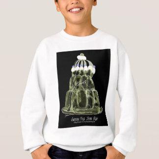 tony fernandes's green tea jello rat sweatshirt