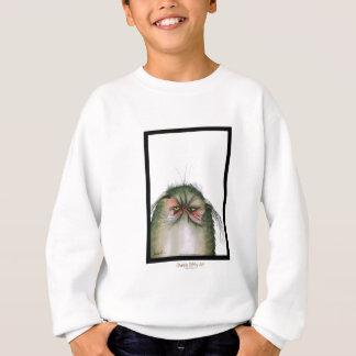 tony fernandes's grumpy tabby cat snap sweatshirt