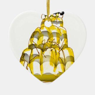 tony fernandes's honey bee jello ceramic heart decoration