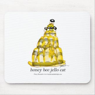 tony fernandes's honey bee jello mouse pad