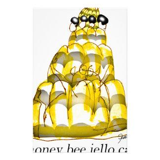 tony fernandes's honey bee jello stationery