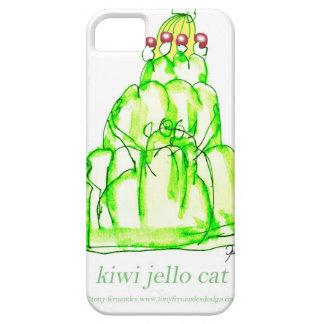 tony fernandes's kiwi jello iPhone 5 case