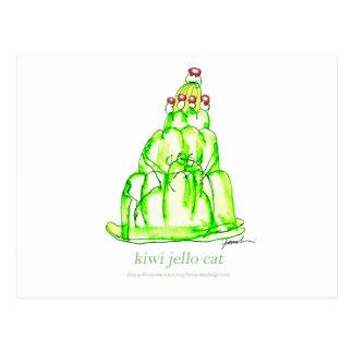 tony fernandes's kiwi jello postcard