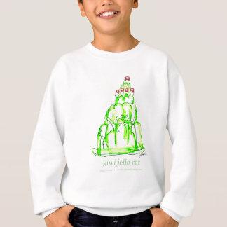 tony fernandes's kiwi jello sweatshirt